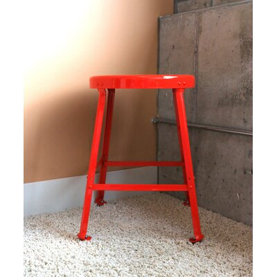 Bar Stool Size: 30 H, Finish: Red