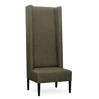 Manorhaven Wingback Chair Color: Brown