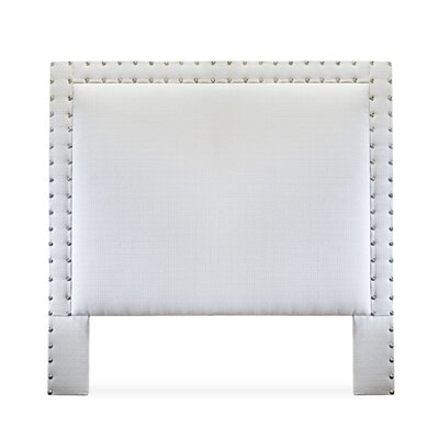 Charlize Upholstered Panel Headboard Size: King