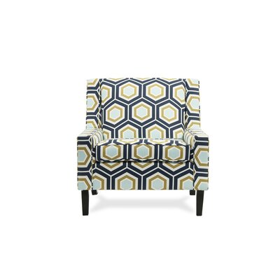 Montego Armchair Color: Grotto Ocean
