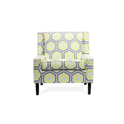 Montego Armchair Color: Grotto Sunny