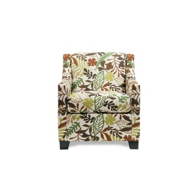 Heidi Arm Chair Color: Eve Fern