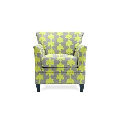 Stella Arm Chair Color: Fiori Wasabi