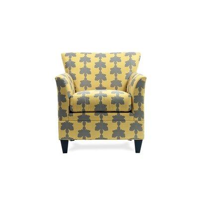 Stella Arm Chair Color: Fiori Dijon