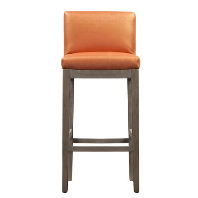 Garland Bar Stool Upholstery: Citrine