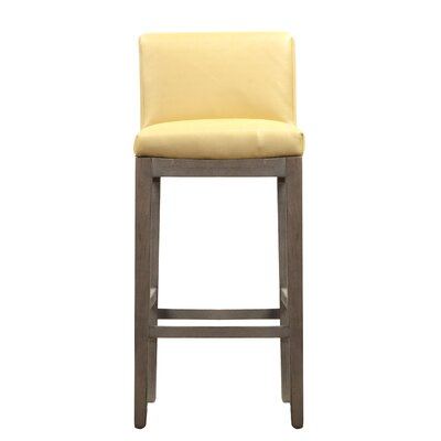 Garland Bar Stool Upholstery: Glitz