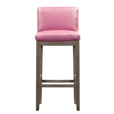 Garland Bar Stool Upholstery: Tourmaline