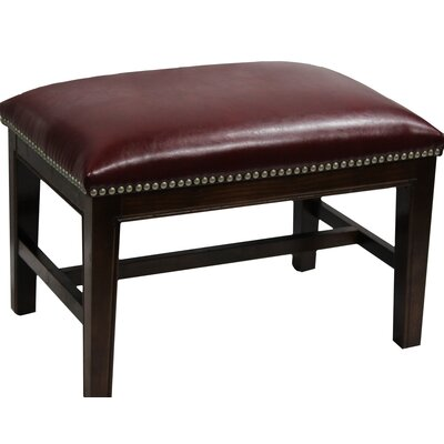 Mornes Ottoman Upholstery: Red