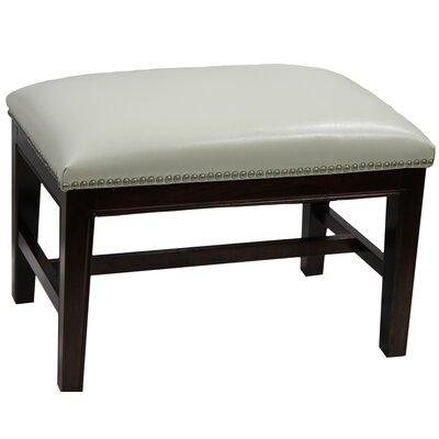 Mornes Ottoman Upholstery: White