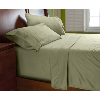 Luxury Elegant Designer Collection Bed Deep Pocket ? Extra Soft Sheet Set Color: Fern Green, Size: Queen