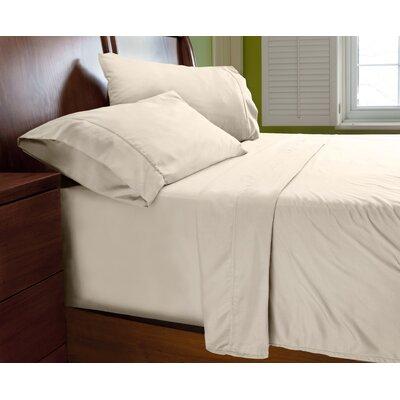 Luxury Elegant Designer Collection Bed Deep Pocket ? Extra Soft Sheet Set Color: Ivory, Size: Queen