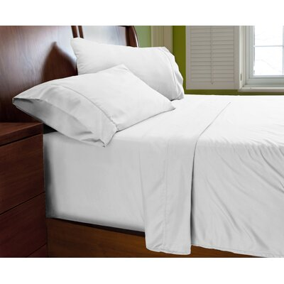 Luxury Elegant Designer Collection Bed Deep Pocket ? Extra Soft Sheet Set Color: White, Size: Queen