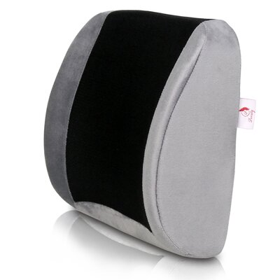 Orthopedic Memory Foam Lumbar Lower Back Cushion Pillow