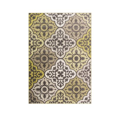 Arabella Yellow Area Rug Rug Size: 8 x 10