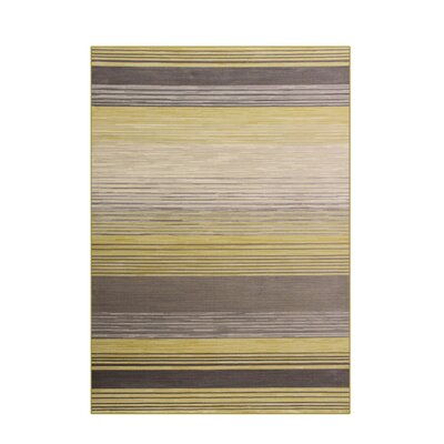 Bastille Yellow Area Rug Rug Size: 8 x 11