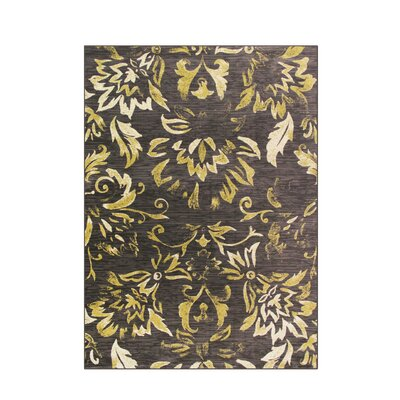 Bastille Brown Area Rug Rug Size: 7 x 10