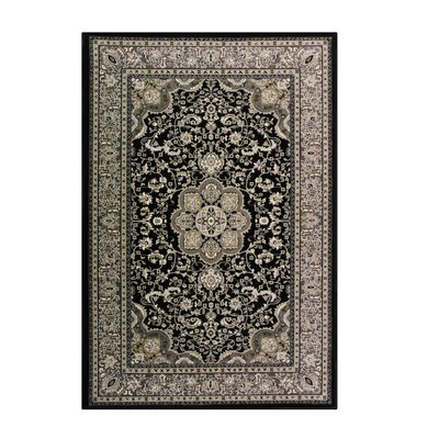 Kensington Black Area Rug