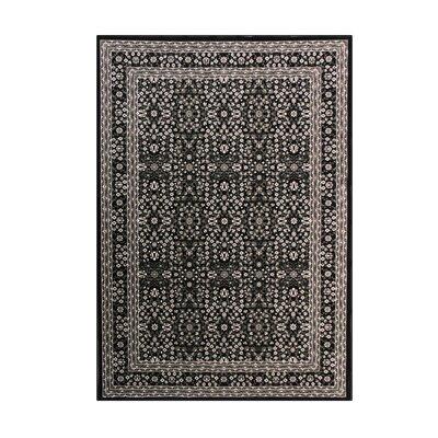 Lang Black Area Rug Rug Size: 1011 x 15