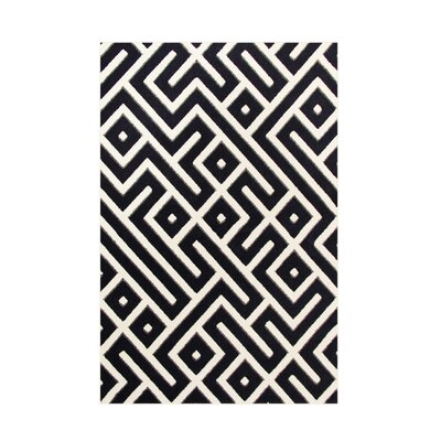 Highline Navy Blue Area Rug Rug Size: 9 x 12