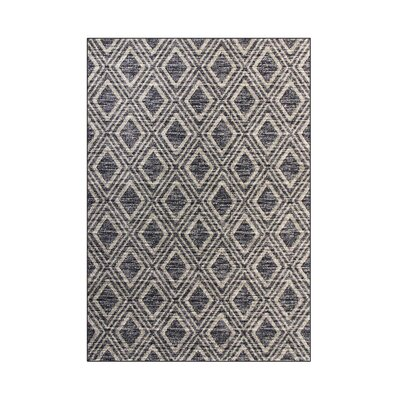 Highline Gray Area Rug Rug Size: 7' x 9'