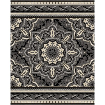 Highland Gray Area Rug Rug Size: 311 x 57