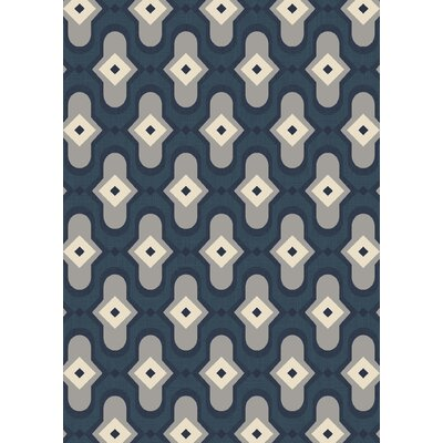 Dexter Peacock Area Rug Rug Size: 92 x 126