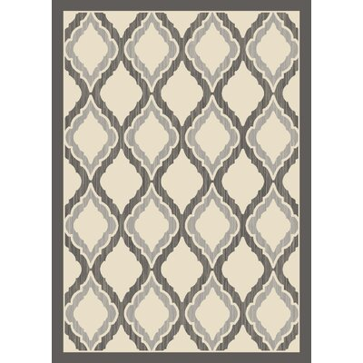 Dexter Gray/Ivory Area Rug Rug Size: 710 x 106