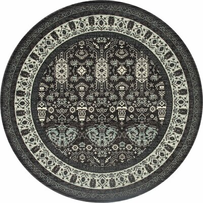 Chelsea Gray Area Rug Rug Size: Round 710