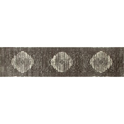 Chelsea Cream/Brown Area Rug Rug Size: Runner 22 x 9