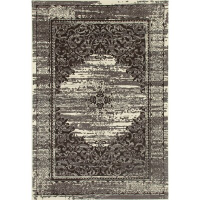 Channel Cream/Brown Area Rug Rug Size: 910 x 131