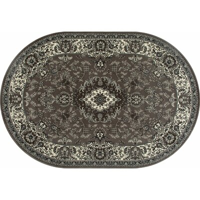 Channel Mushroom Area Rug Rug Size: OVAL 67 x 96
