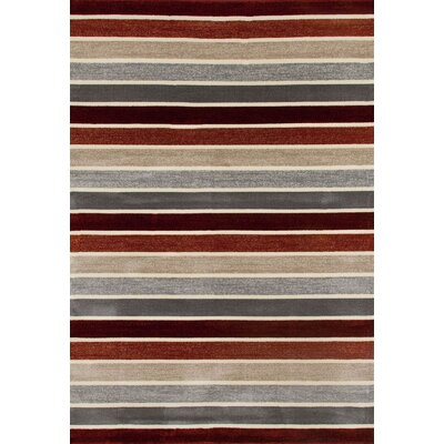 Vasques Area Rug Rug Size: 92 x 126