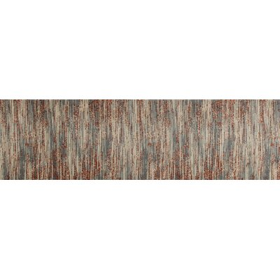 Arbor Gray/Beige Area Rug Rug Size: Runner 22 x 77