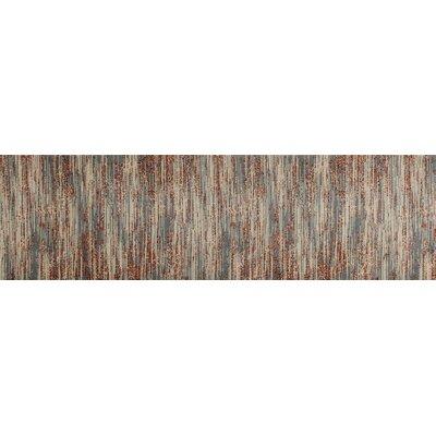 Burgos Gray/Beige Area Rug Rug Size: Runner 22 x 77