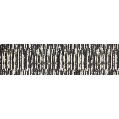 Hershberger Gray/Beige Area Rug Rug Size: Runner 22 x 9