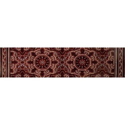 Highland Red Area Rug Rug Size: Runner 22 x 82