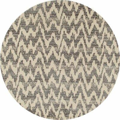 Burgoyne Gray Area Rug Rug Size: 67 x 92