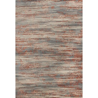 Burgos Gray/Beige Area Rug Rug Size: 710 x 10