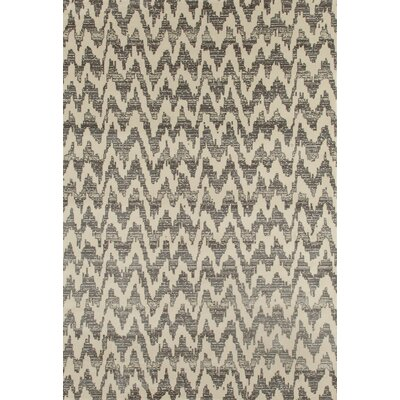 Dexter Gray Area Rug Rug Size: 53 x 77