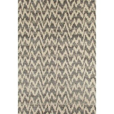 Dexter Gray Area Rug Rug Size: 67 x 92