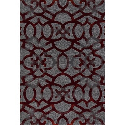 Delanie Red Area Rug Rug Size: 710 x 106