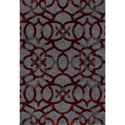 Bastille Red Area Rug Rug Size: 8' x 11'