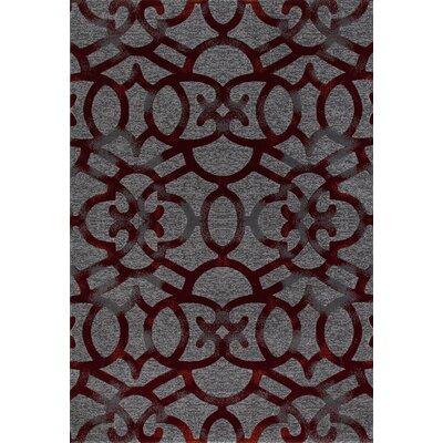 Bastille Red Area Rug Rug Size: 11 x 15