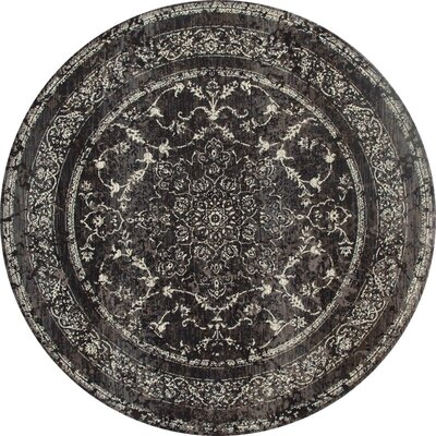 Channel Area Rug Rug Size: ROUND 710