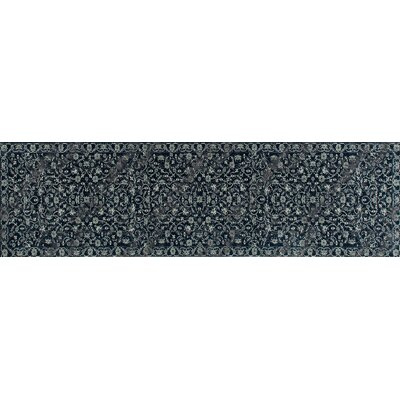 Channel Steel Blue Area Rug Rug Size: Runner 22 x 9