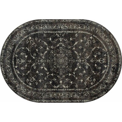 Channel Area Rug Rug Size: OVAL 67 x 96