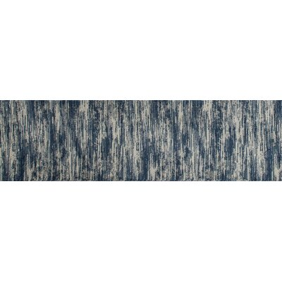Arbor Aqua Area Rug Rug Size: Runner 22 x 77