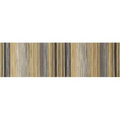 Bastille Yellow Area Rug Rug Size: Runner 2 x 8