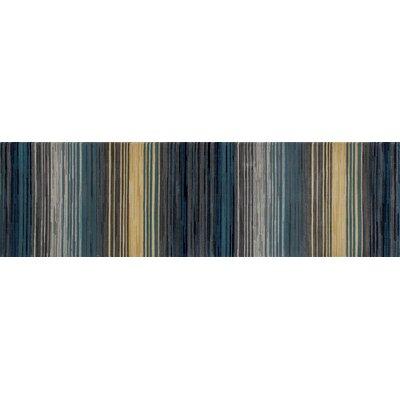 Bastille Gray Area Rug Rug Size: Runner 2 x 8