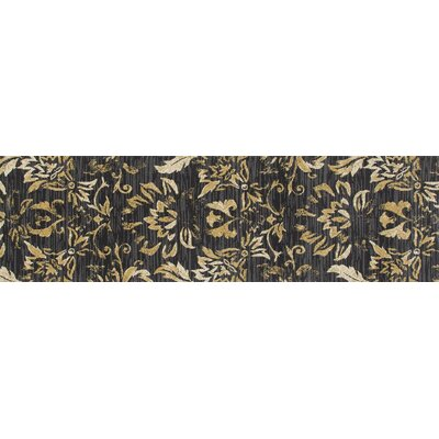 Bastille Brown Area Rug Rug Size: Runner 2 x 8